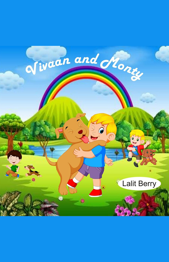 Vivaan and Monty by Lalit Berry